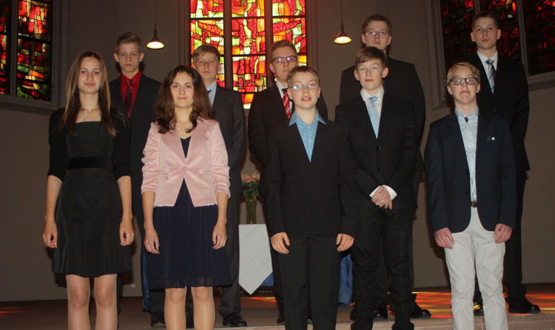 Konfirmation Johanneskirche 2014