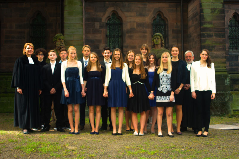 Konfirmation Johannes Kirche 2014